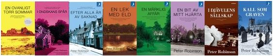 Böcker av Peter Robinson